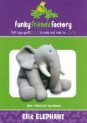 Ellie Elephant sewing pattern Funky Friends Factory