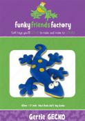 Gertie Gecko sewing pattern Funky Friends Factory