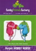 Harper Hobby Horse sewing pattern Funky Friends Factory