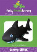Sammy Shark sewing pattern Funky Friends Factory