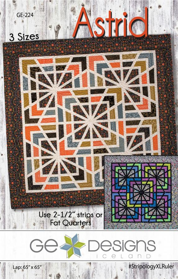 Astrid quilt sewing pattern from GE Designs