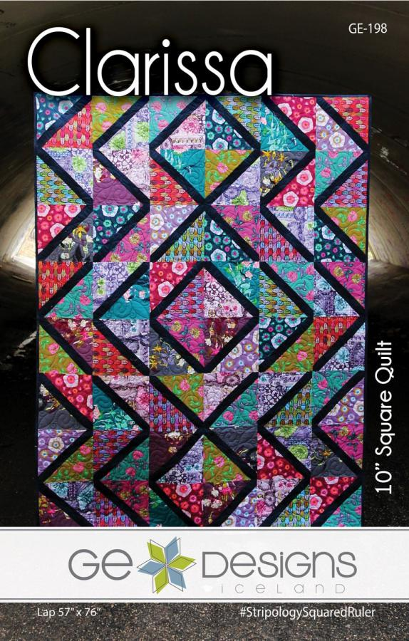 Clarissa quilt sewing pattern from GE Designs