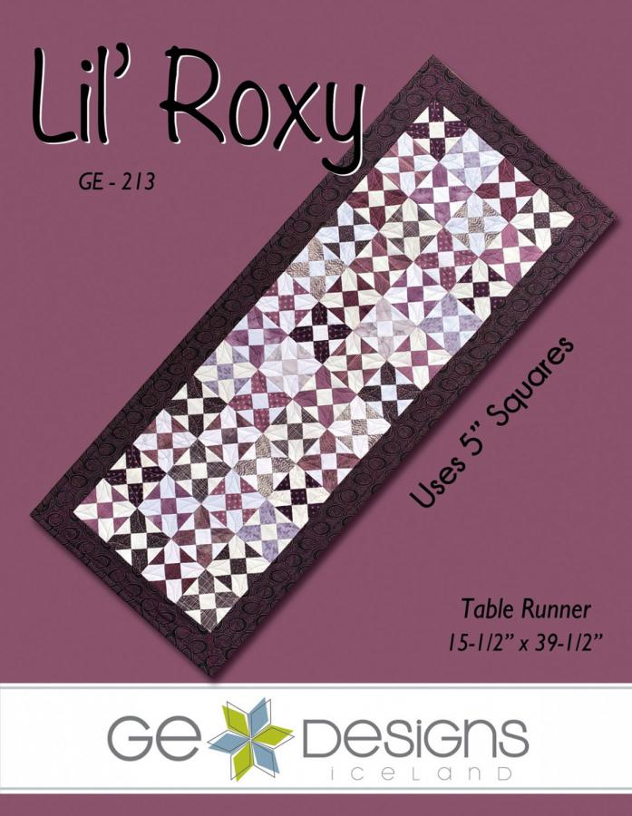 Lil Roxy table runner sewing pattern from GE Designs
