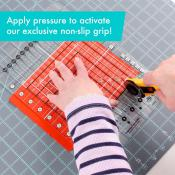 Creative Grids Stripology Squared MINI Quilt Ruler - CGRGE3 1