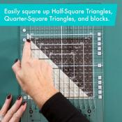 Creative Grids Stripology Squared MINI Quilt Ruler - CGRGE3 3