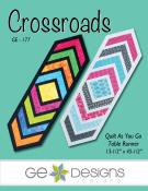 Crossroads table runner sewing pattern from GE Designs