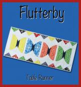 Flutterby table runner sewing pattern from GE Designs 2