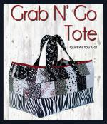 Grab and Go Tote sewing pattern from GE Designs 2