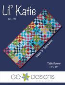 Lil Katie table runner sewing pattern from GE Designs