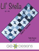 Lil Stella table runner sewing pattern from GE Designs