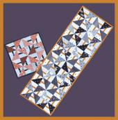 Lil Trixie table runner sewing pattern from GE Designs 2