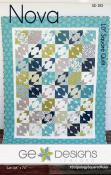 Nova quilt sewing pattern from GE Designs