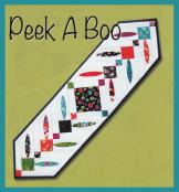 Peek A Boo table runner sewing pattern from GE Designs 2