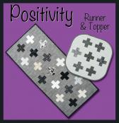 Positivity Topper and table runner sewing pattern from GE Designs 2