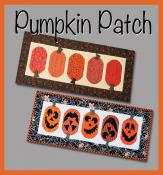 Pumpkin Patch table runner sewing pattern from GE Designs 2