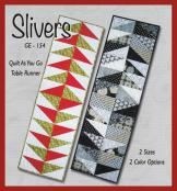 Silvers table runner sewing pattern from GE Designs 2
