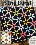 Strip Burst quilt sewing pattern from GE Designs 2