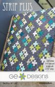 Strip Plus quilt sewing pattern from GE Designs