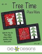Tree Time Placemats sewing pattern from GE Designs