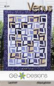 Venus quilt sewing pattern from GE Designs
