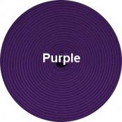 PURPLE Sew-In Hook & Loop Tape - 3/4 Inch - 1yd (by the yard, continuous cut yardage)