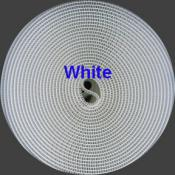 WHITE Sew-in Hook & Loop Tape - 3/4 Inch - 1yd (by the yard, continuous cut yardage)