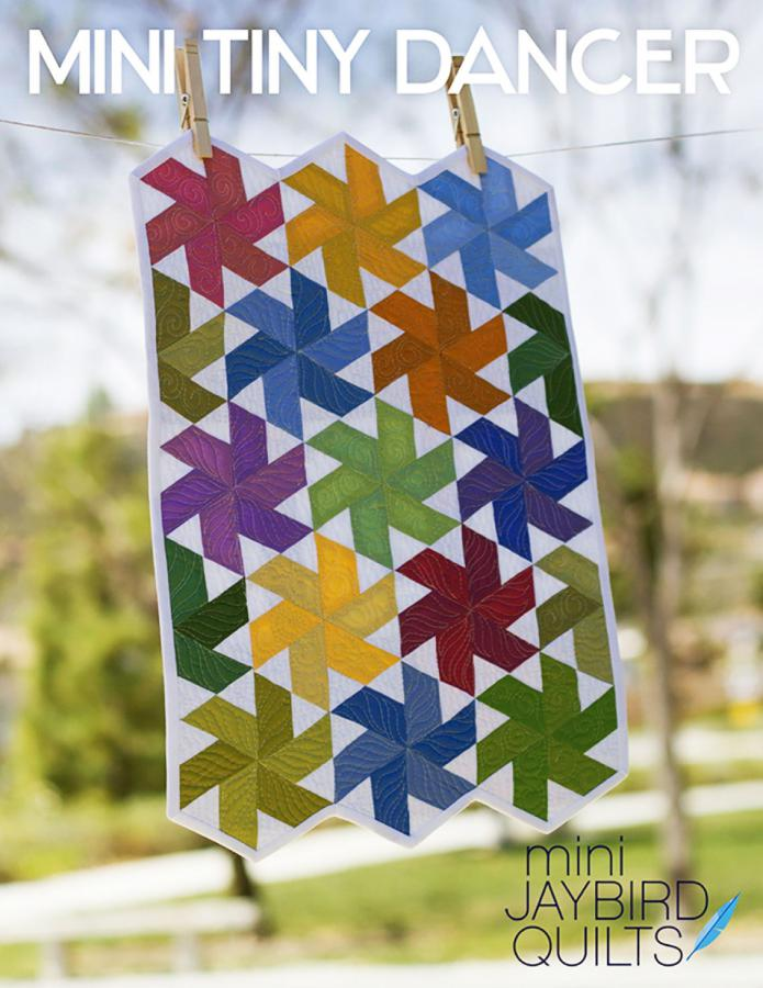 Mini Tiny Dancer quilt sewing pattern from Jaybird Quilts