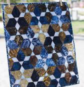 Mini Lotus quilt sewing pattern from Jaybird Quilts 2