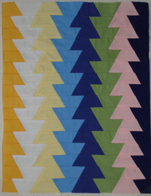 Mini Northern Lights quilt sewing pattern from Jaybird Quilts : northern lights quilt pattern - Adamdwight.com