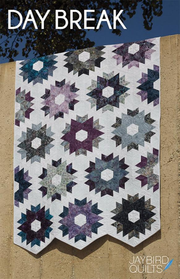 Day Break quilt sewing pattern from Jaybird Quilts
