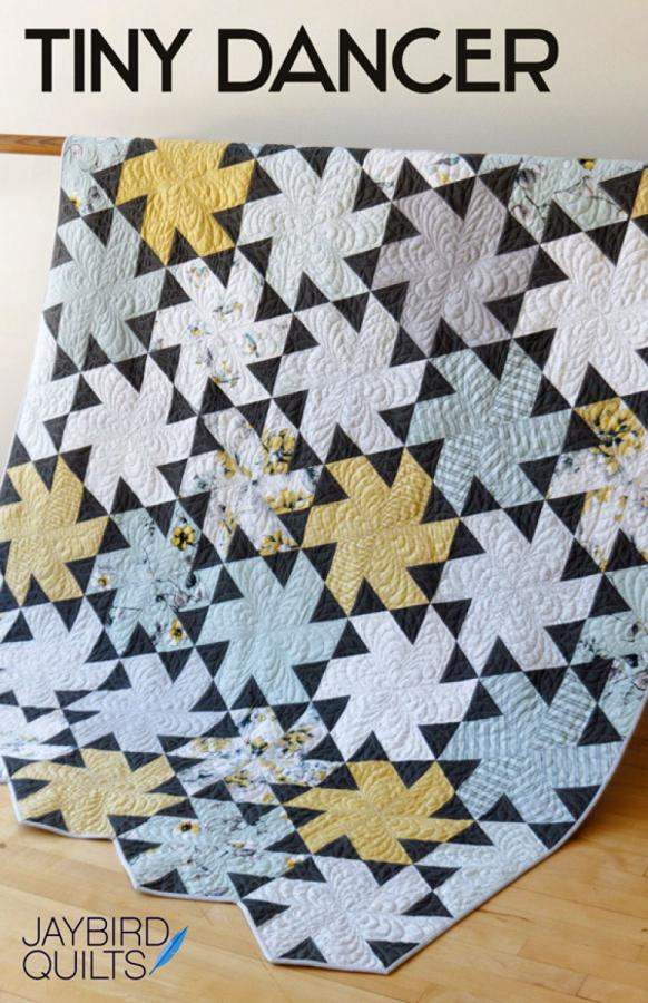 Tiny Dancer quilt sewing pattern from Jaybird Quilts