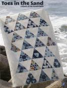 Toes In The Sand quilt sewing pattern book from Jaybird Quilts