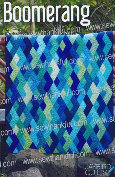 Boomerang Quilt Pattern From Jaybird Quilts