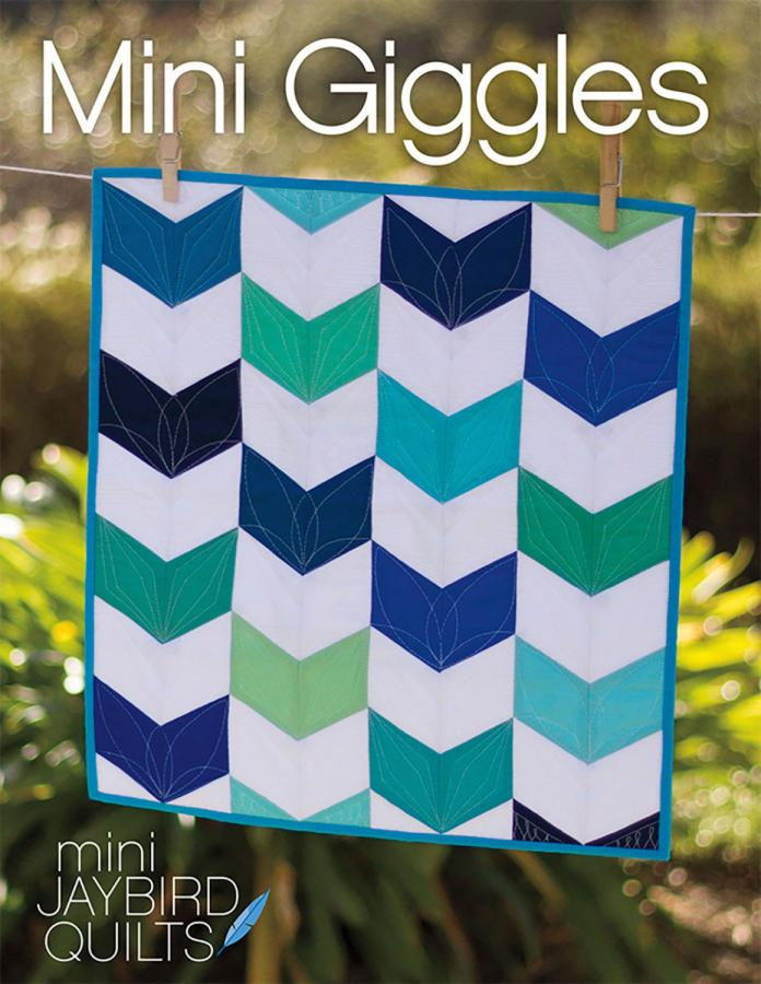 Mini Giggles quilt pattern from Jaybird Quilts