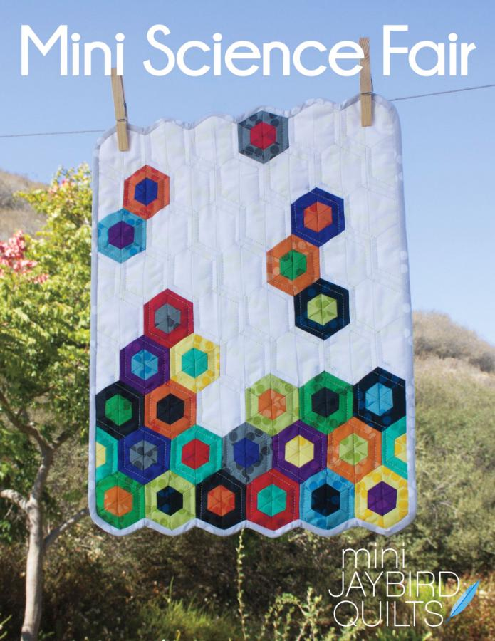 Mini Science Fair quilt sewing pattern from Jaybird Quilts