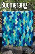 Boomerang quilt pattern from Jaybird Quilts