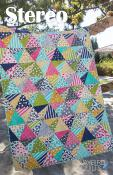 Stereo quilt sewing pattern from Jaybird Quilts