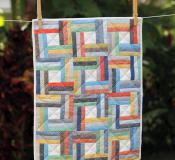 Mini Off the Rail quilt sewing pattern from Jaybird Quilts 2