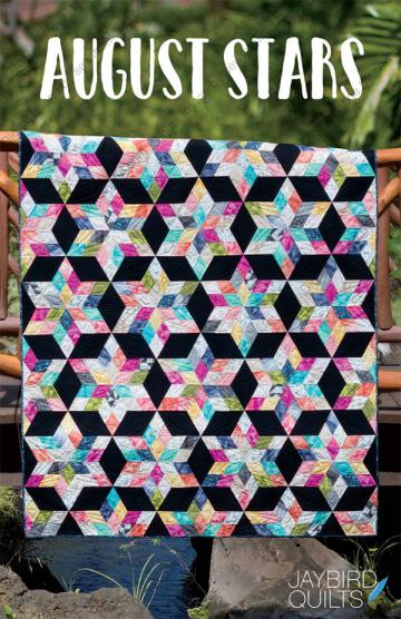 August Stars quilt pattern from Jaybird Quilts