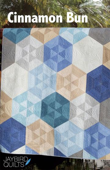 Cinnamon Bun quilt pattern from Jaybird Quilts