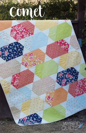 Comet quilt pattern from Jaybird Quilts