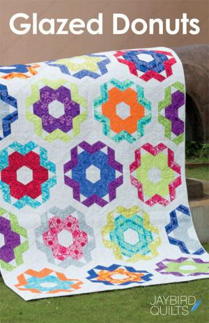 Glazed Donuts quilt pattern from Jaybird Quilts