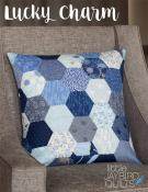 INVENTORY REDUCTION...Lucky Charm pillow quilt pattern from Jaybird Quilts