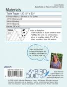 Nova Table Topper sewing pattern from Jaybird Quilts 1