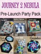 Journey To Nebula Pre-Launch Party Pack - 6 patterns NOTE: PRE-OrderItem price valid 8/9/2020 - 11:59PM Eastern time on 8/15/2020. EstimatedShippingDate: 8/24/2020.