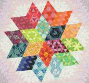 INVENTORY REDUCTION...Nebula Quilt - Block of the Month sewing pattern from Jaybird Quilts 3
