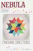 INVENTORY REDUCTION...Nebula Quilt - Block of the Month sewing pattern from Jaybird Quilts 2