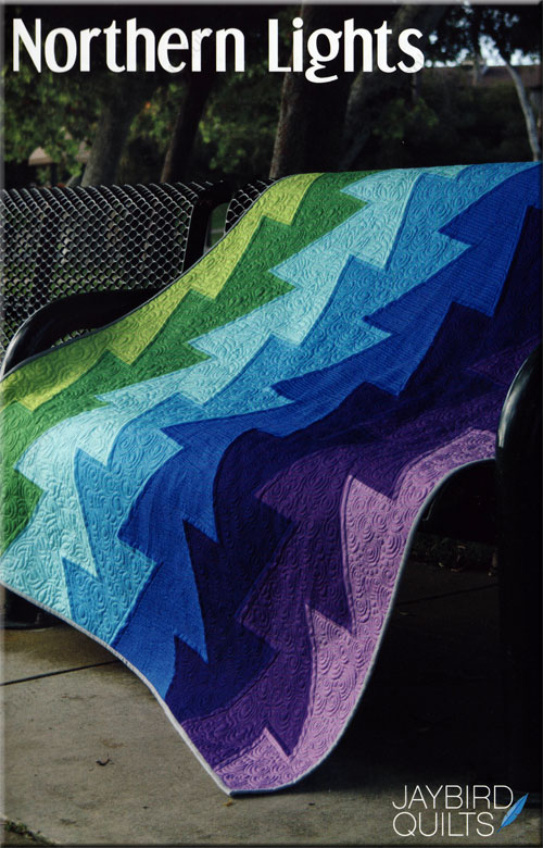 Northern Lights quilt pattern from Jaybird Quilts