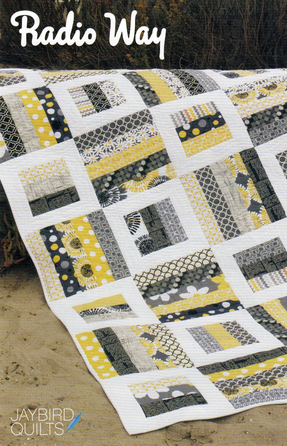 Radio Way Quilt Sewing Pattern From Jaybird Quilts