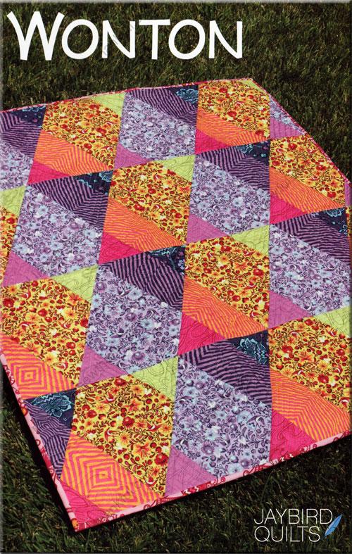 Wonton quilt pattern from Jaybird Quilts : jaybird quilt - Adamdwight.com